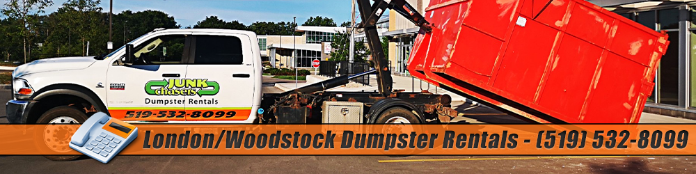 Dumpster Rental Services in London, Kitchener, Waterloo, Tillsonburg and Woodstock
